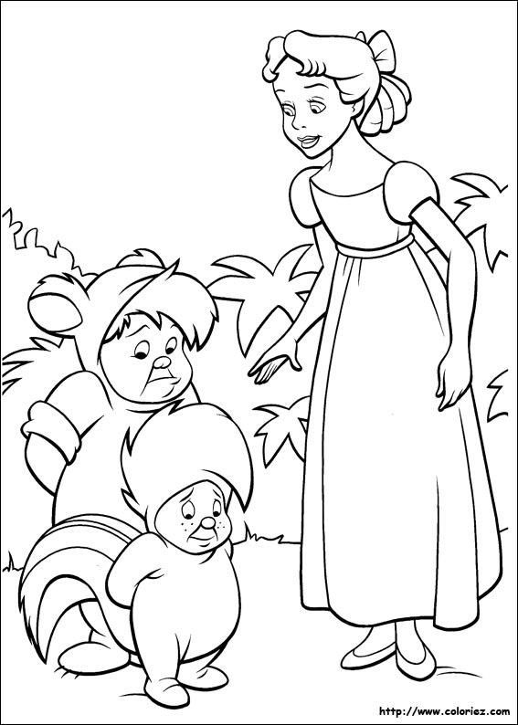 Coloriages peter pan - Coloriages peter pan ...