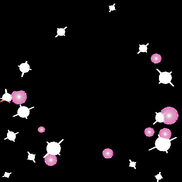 Pluies de perles, bulles et diamants