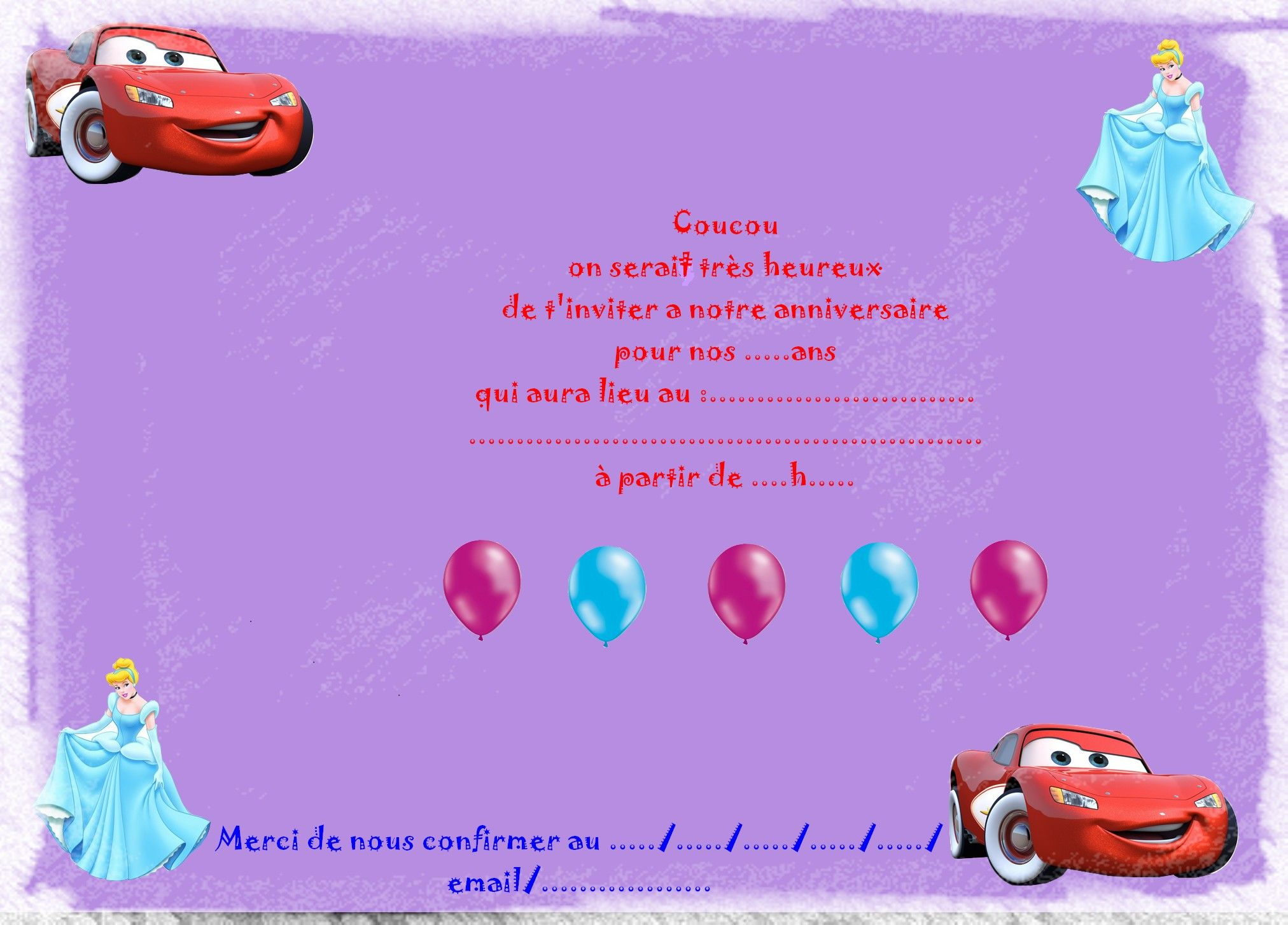 invitations anniversaires - Page 2