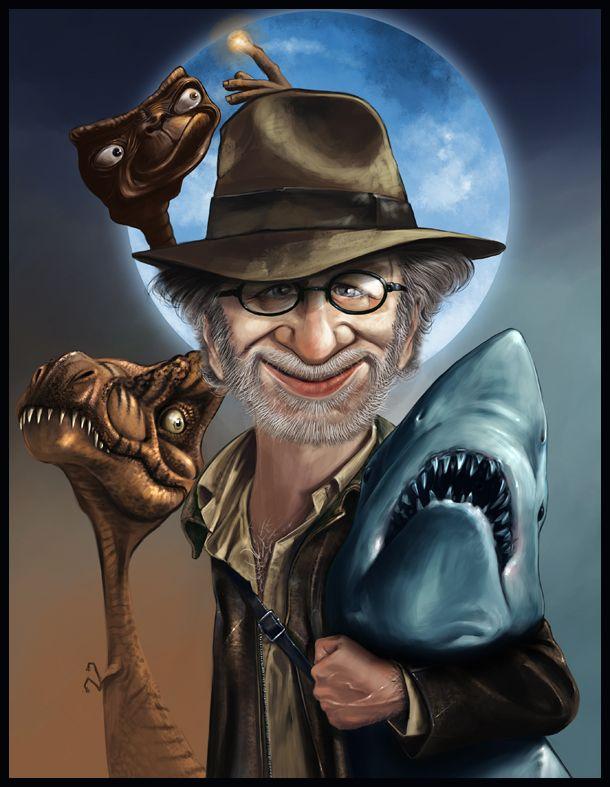 Steven Spielberg Art